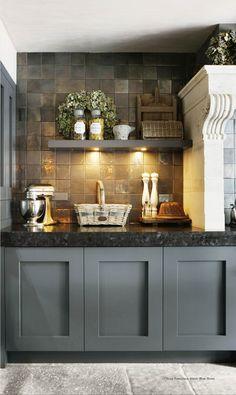 living room ideas – New Ideas Kitchen Tiles, New Kitchen, Kitchen Cabinets, Square Kitchen, Kitchen Interior, Kitchen Decor, Küchen Design, Kitchen Styling, Beautiful Kitchens