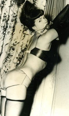 Bettie Page -  Bound And Gagged