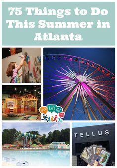 75 Things to Do This Summer in Atlanta, Georgia Weekend Trips, Day Trips, Places To Travel, Places To Go, Vacation Places, Atlanta Travel, Visit Atlanta, Summer Boredom, Georgia On My Mind