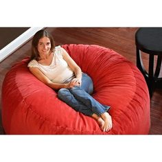 5-Feet comfort cloud foam filled bean bag is super soft, comfortable and  will 13c04a33a2