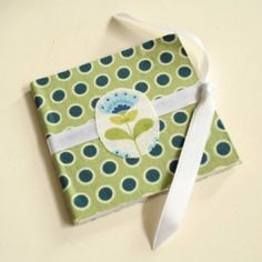 Easy DIY: memory book made out of note paper! @ By Wilma