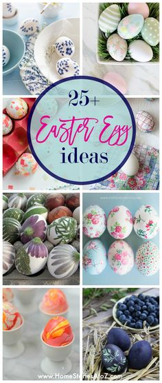25 Unique Easter Egg Ideas - Home Stories A to Z