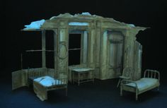 Old Times Theatre Scenery and Theatre Set Design Gallery