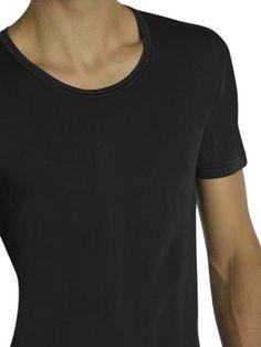 d5ee748894 Camiseta Térmica Manga Corta barata en negro - Varela Intimo