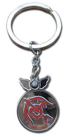 Sailor Moon Supers Key Chain - Change Rod Mars Symbol @Archonia_US