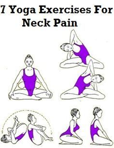 Yoga Exercises for Neck Pain: Here are some yoga poses that will relieve you from your neck pain. Wonderful exercises.  If a little extra help is needed, go to http://PainKickers.com/back-injuries/