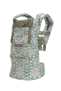 Gorgeous Ergo Baby Carrier and so comfortable for baby and parent