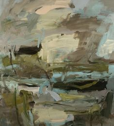 Louise Balaam, 'Clouds and dykes, avocet flight'