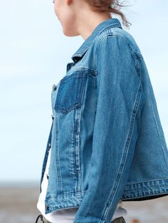 A denim jacket - the ultimate, all-weather cover-up. Perfect for British summers.