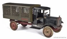 Keystone pressed steel Packard U.S. Mail delivery truck, early 20th c.