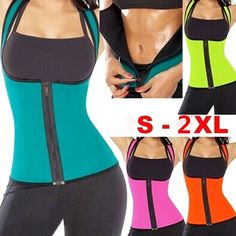 1531a83111 5.99AUD - Hot!Womens Body Shaper Waist Trainer Cincher Yoga Fitness Thermo Sweat  Neoprene