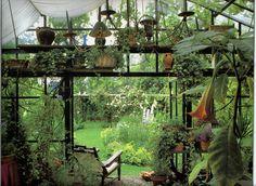 This is my dream secret garden.