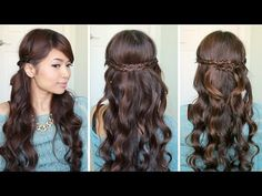 Irregular Braid Headband Hairstyles | Hair Tutorial - YouTubeBraid Hairstyles, Braids, braids tutorial, braids for short hair, braids for short hair tutorial, braids for long hair, braids for long hair tutorials...