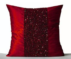 Amore Beaute Handcrafted Red Beaded Pillows -Red Art Silk... http://www.amazon.com/dp/B00N6RXW4K/ref=cm_sw_r_pi_dp_UGAnxb0D696X4