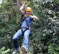 Open Safari and Zip Line Adventure Tour   Flight of the Gibbon