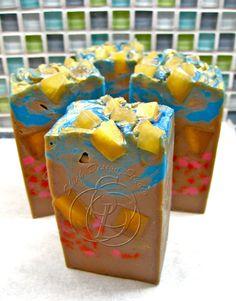 Frankincense and Myrrh Handmade Cold Process Soap. $6.00, via Etsy.