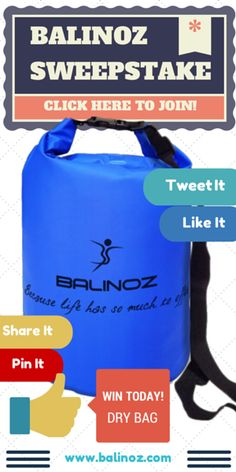 Win Waterproof Dry Sack. Join now for Free Bag! Ends 10 Nov 14. Hurrrrrrry.....!!!
