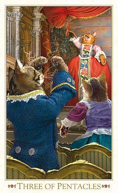 Tarot of the Bohemian Cats