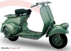 Vespa 98  Jahrgang 1946