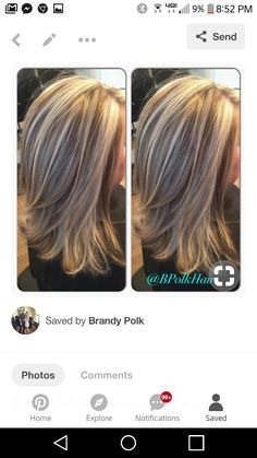 pretty hairstyles for work Hairdos Blonde Hair With Highlights, Brown Blonde Hair, Pretty Hairstyles, Braided Hairstyles, Medium Hair Styles, Curly Hair Styles, Blonde Haircuts, Hair Affair, Bad Hair