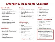 3 Steps to Disaster-proof Your Important Documents - Preppers Survive Cover Letter Template, Template Cv, Survival Prepping, Emergency Preparedness, Survival Skills, Hurricane Preparedness, Survival Gear, Google Docs, Dental Insurance