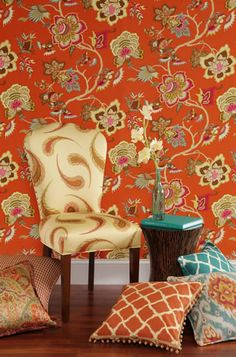 I need to get braver about mixing patterns in our dining room re-do