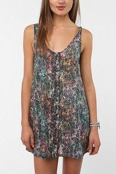 UO - Insight Neon Swirls Dress