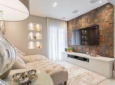 O painel de te já era lindo. Agora imaginem o ambiente todo.  Amei!  @pontodecor  Projeto Carolina Denani Via @maisdecor_  www.homeidea.com.br  Face: /homeidea  Pinterest: Home Idea #homeidea #arquitetura #ambiente #archdecor #archdesign #projeto #homestyle #home #homedecor #pontodecor #homedesign #photooftheday #interiordesign #interiores #picoftheday #decoration #revestimento  #decoracao #architecture #archdaily #inspiration #project #regram #home #casa #grupodecordigital #salatv