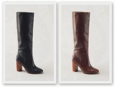 Women's Stanton High Heel Tall LEATHER Boots $55.99 shipped! (list $279.99)