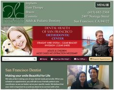SF Dentist in the San Francisco Outer Sunset district. Providing Emergency dentistry, cosmetic smile enhancements, and restorative dental care to local residents and tourists alike!  Extended Weekend Hours