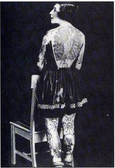 inkerest:  Vintage tattoo girl