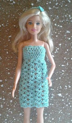HANDMADE BARBIE CLOTHES LAVENDER GREEN SWIRLS  STRAIGHT DRESS