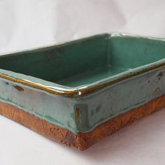 Pottery baking dish
