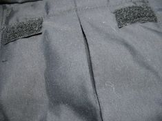How to sew a cargo pocket