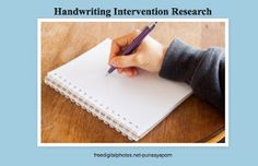 Pediatric Occupational Therapy Tips: Evidence-Based Practice: Handwriting Intervention. Pediatric Occupational Therapy, Pediatric Ot, Handwriting Activities, Handwriting Practice, Handwritten Type, School Ot, Improve Your Handwriting, Pencil Grip, Letter Identification