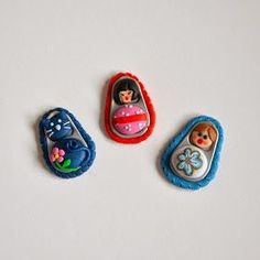 Recycled Can Pull Tab Polymer Clay Doll Jewelry Tutorial Polymer Project, Polymer Clay Projects, Clay Crafts, Polymer Clay Ring, Polymer Clay Dolls, Pop Top Crafts, Recycle Cans, Pop Tabs, Bottle Cap Crafts