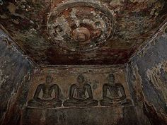 Explore Ancient Paintings At Sittanavasal Cave In Tamil Nadu-The Beauty Of Sittanavasal Cave Archaeological Survey Of India, Lotus Pond, Beautiful Images, Minerals, Sculptures, Explore, History, Painting, Art