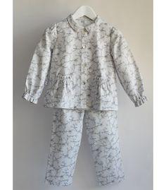 Pijama Niña Estampado Pajaritos Algodón -Girls´Sleepwear Pajama Cotton  -Birdie-LaPiyama Mika 1c19fbfc9