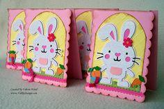 Cricut Create a critter Easter card
