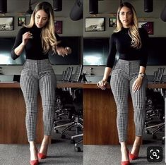 Best Winter Business Outfits To Be The Fashionable Woman In Your Office Now ~ Fa. - Outfits for Work - Best Winter Business Outfits To Be The Fashionable Woman In Your Office Now ~ Fa. 30 Outfits, Casual Work Outfits, Winter Outfits For Work, Mode Outfits, Work Casual, Cute Office Outfits, Sexy Work Outfit, Woman Outfits, Ladies Outfits