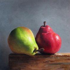 "Daily Paintworks - ""Organic Pair"" - Original Fine Art for Sale - © Michael Naples"