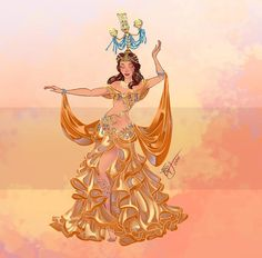 Quem disse que elas não podem fazer o que querem? A artista italiana Sara Manca responsável pela Blatterbury Street criou uma fan art em que as princesas e personagens da Disney aparecem como dançarinas do ventre. O tema foi escolhido porque a artista tem a dança do ventre como uma de suas paixões, tendo estudado a dança por quatro anos!…