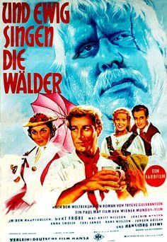 Poster zum Film: Und ewig singen die Wälder. 1959