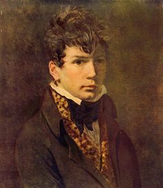 Portrait of the Young Ingres - Jacques-Louis David