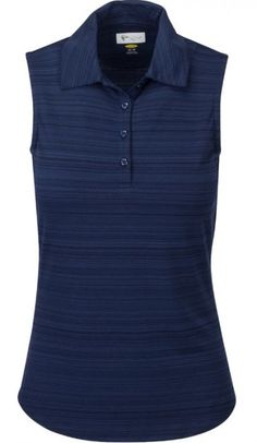 a1879732 Greg Norman Ladies Heather Sleeveless Golf Polo Shirts - ESSENTIALS  (Assorted Colors)