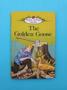 Vintage Ladybird Book The Golden Goose. Matt by WonderfulChildhood