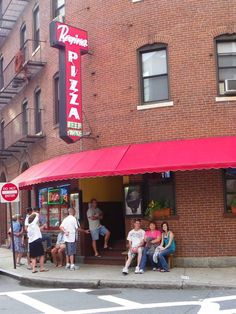 Pizzeria Regina in the Boston area on the A-List