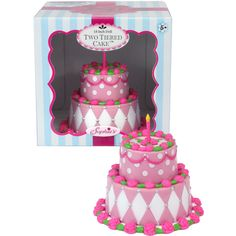 """Doll Clothes 18/"""" Sophia/'s Two Tiered Doll Cake Fits American Girl Doll"""