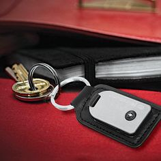 A useful fob? Beautiful leather and stainless steel. True Utility, Tool Store, Everyday Carry, Key Rings, Stainless Steel, Personalized Items, Leather, Beautiful, Key Fobs