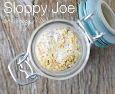 Sloppy Joe Seasoning Mix, so easy to make and to use.